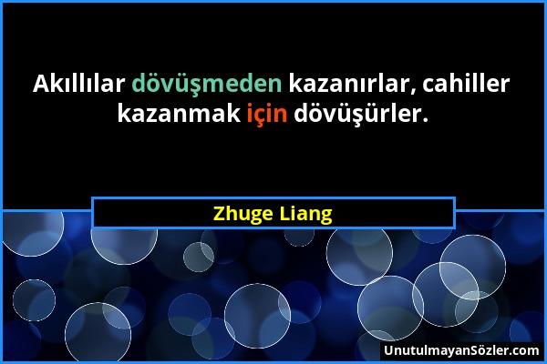 Zhuge Liang Sözü 1